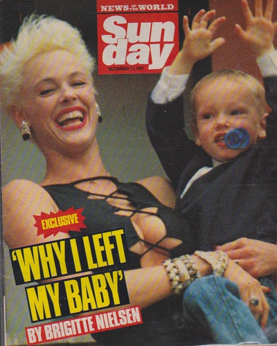 News Of The World Magazine - Brigitte Nielsen