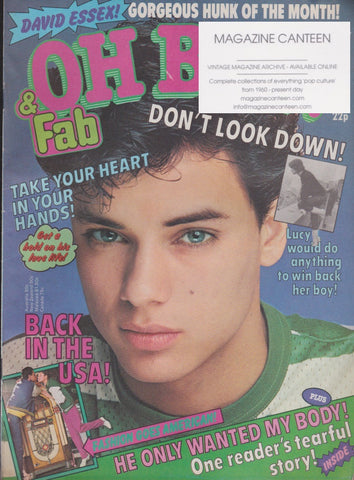 Oh Boy Magazine - Nick Kamen