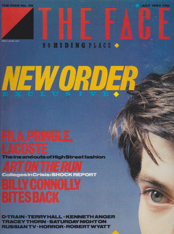 The Face Magazine July 1983  - New Order
