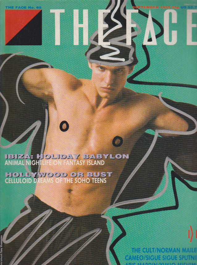 The Face Magazine September 1985  - Tony Viramontes