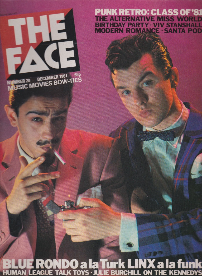 The Face Magazine December 1981 - Blue Rondo