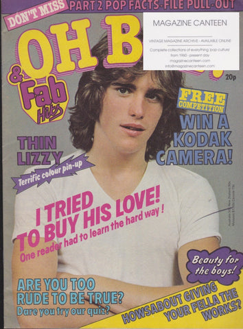 Oh Boy Magazine - Matt Dillon