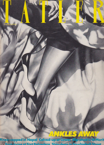 Tatler Magazine 1982 - Holly Hollington