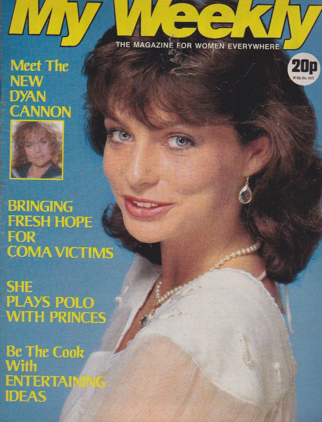 My Weekly Magazine - Dyan Cannon