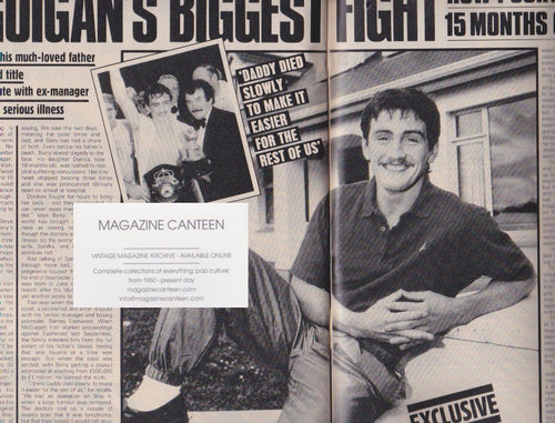 Magazine - Barry McGuigan - Biggest fight