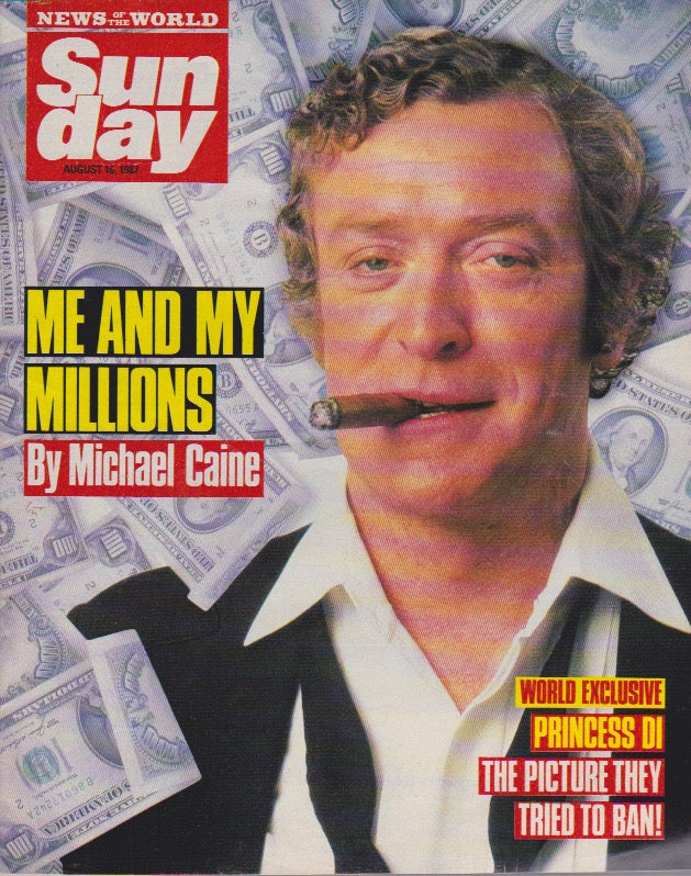 News Of The World Magazine - Michael Caine