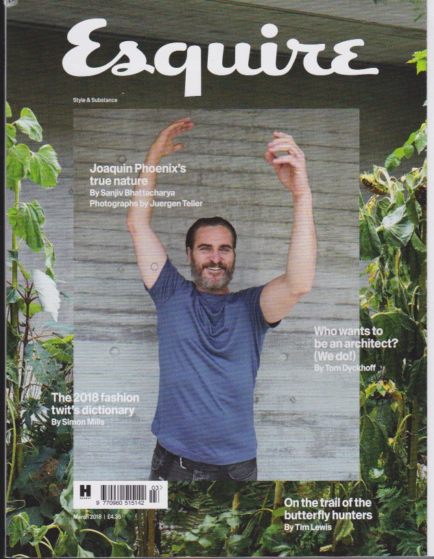 Esquire Magazine - March 2018 - Joaquin Phoenix