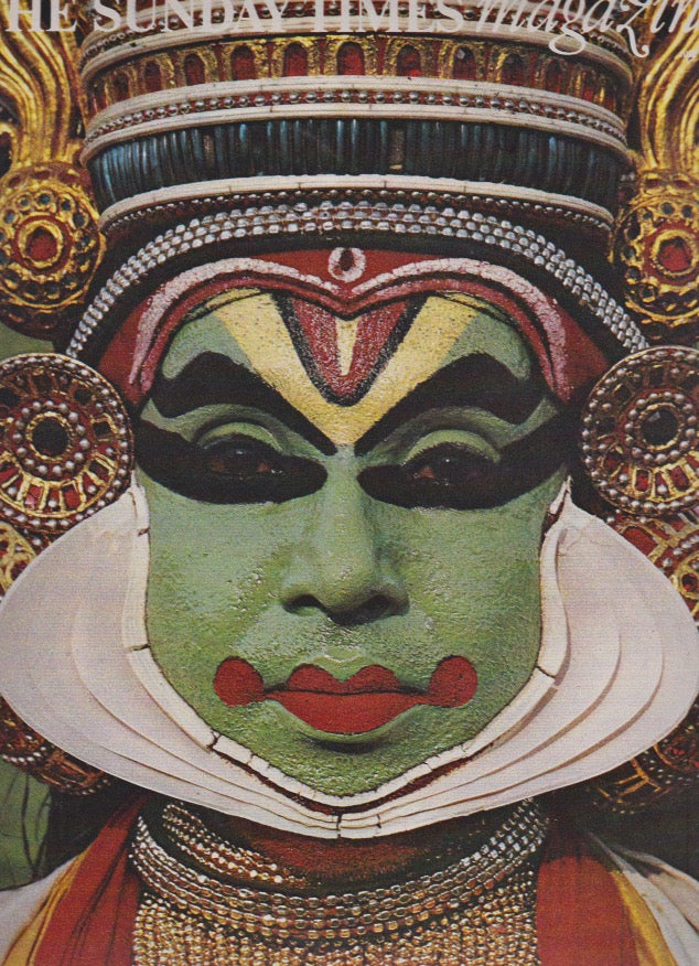 Magazine - India by David Montgomery - Kathakali