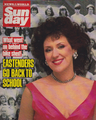 News Of The World Magazine - Anita Dobson