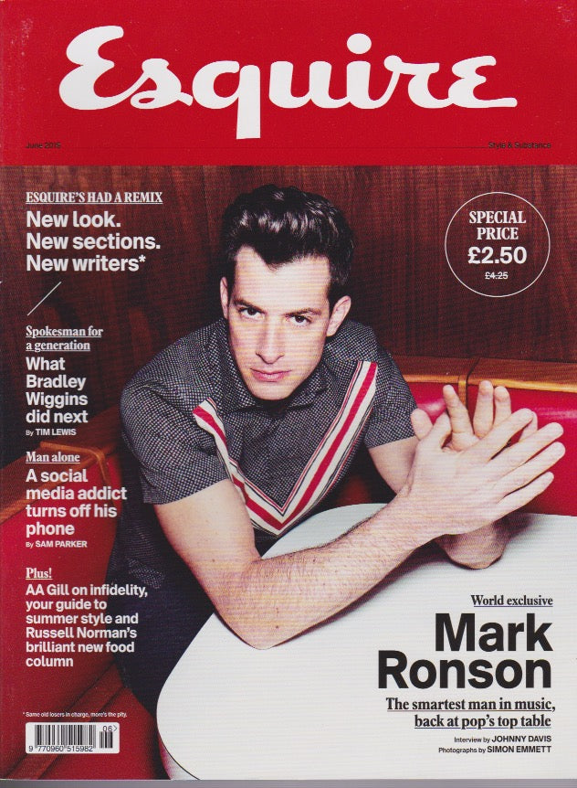 Esquire Magazine - June 2015 - Mark Ronson
