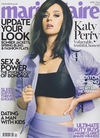 Marie Claire Magazine - Katy Perry