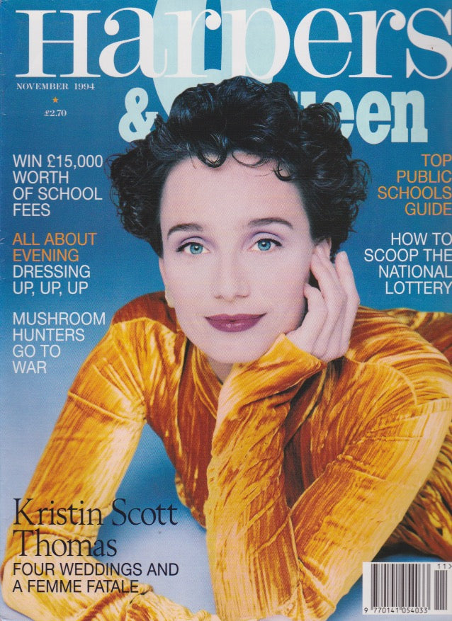 Harpers & Queen Magazine - Kristin Scott Thomas