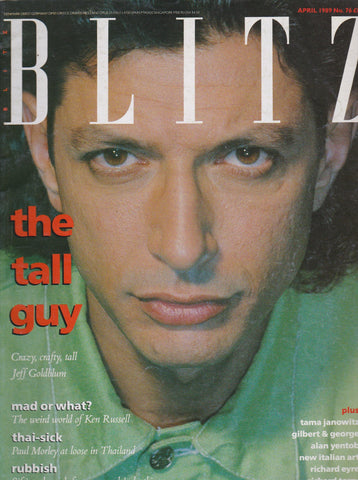 Blitz Magazine 1989 - Jeff Goldblum