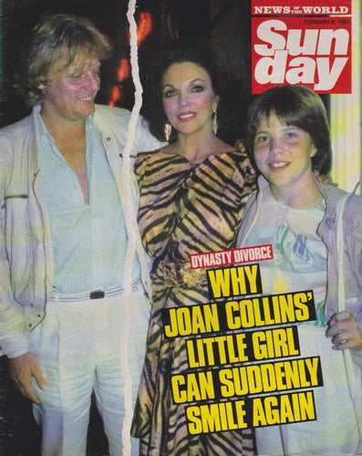 News Of The World Magazine - Joan Collins - Suzanne Mizzi