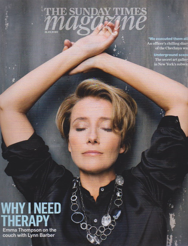 The Sunday Times Magazine - Emma Thompson