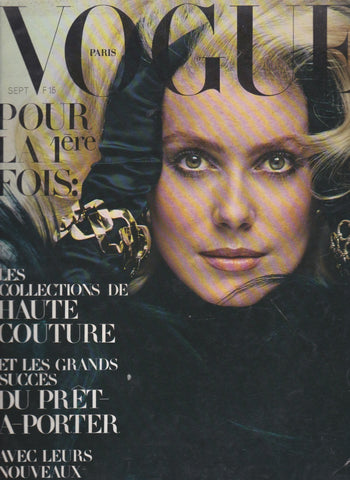Vogue Paris Magazine - 1970 - Catherine Deneuve