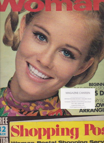 Woman Magazine - Cybill Shepherd