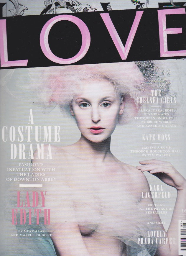 Love Magazine Issue 8. Laura Carmichael - Lady Edith