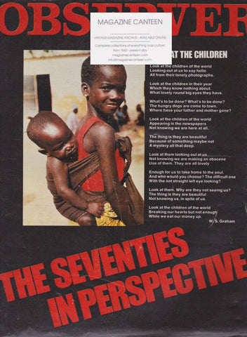 The Observer Magazine - The Seventies