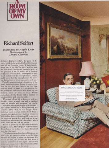 The Observer Magazine - Richard Seifert Architect