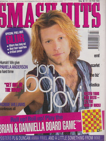 Smash Hits Magazine - Jon Bon Jovi