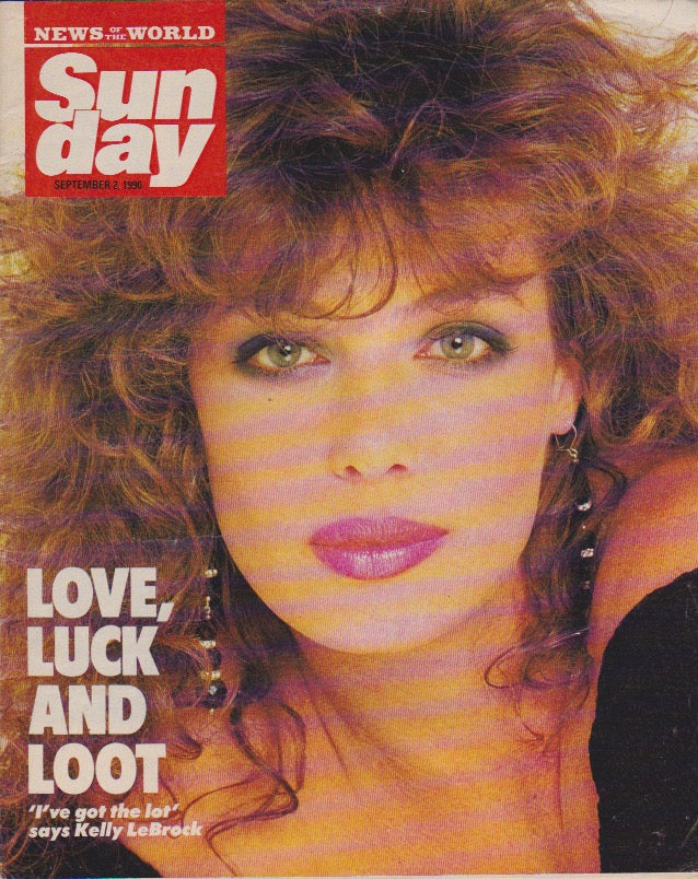 News Of The World Magazine - Kelly LeBrock