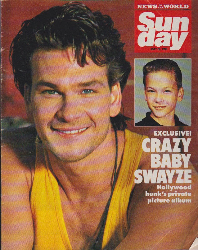 News Of The World Magazine - Patrick Swayze