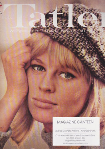 Tatler Magazine - Julie Christie