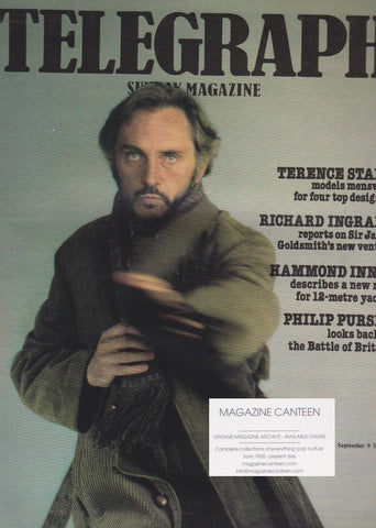 The Telegraph Magazine - Terence Stamp