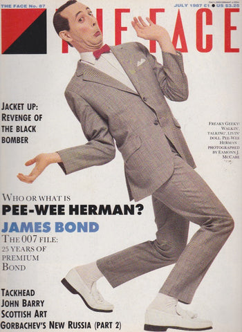 The Face 87 - July 1987 - Pee Wee herman