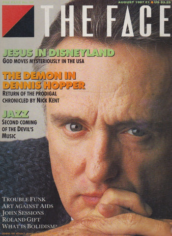 The Face 88 August 1987 - Dennis Hopper