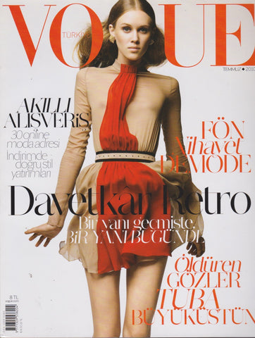 Vogue Turkey Magazine - Marike Le Roux