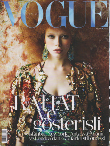 Vogue Turkey Magazine - Julia Hafstrom