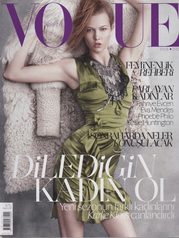 Vogue Turkey Magazine - Karlie Kloss