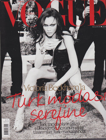 Vogue Turkey Magazine - Victoria Beckham