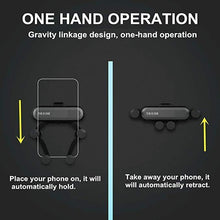 Load image into Gallery viewer, Gravity car phone holder New  Gravity Car Mount Phone Holder