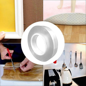 Solunay Multi-function Traceless Washable Nano Adhesive Tape