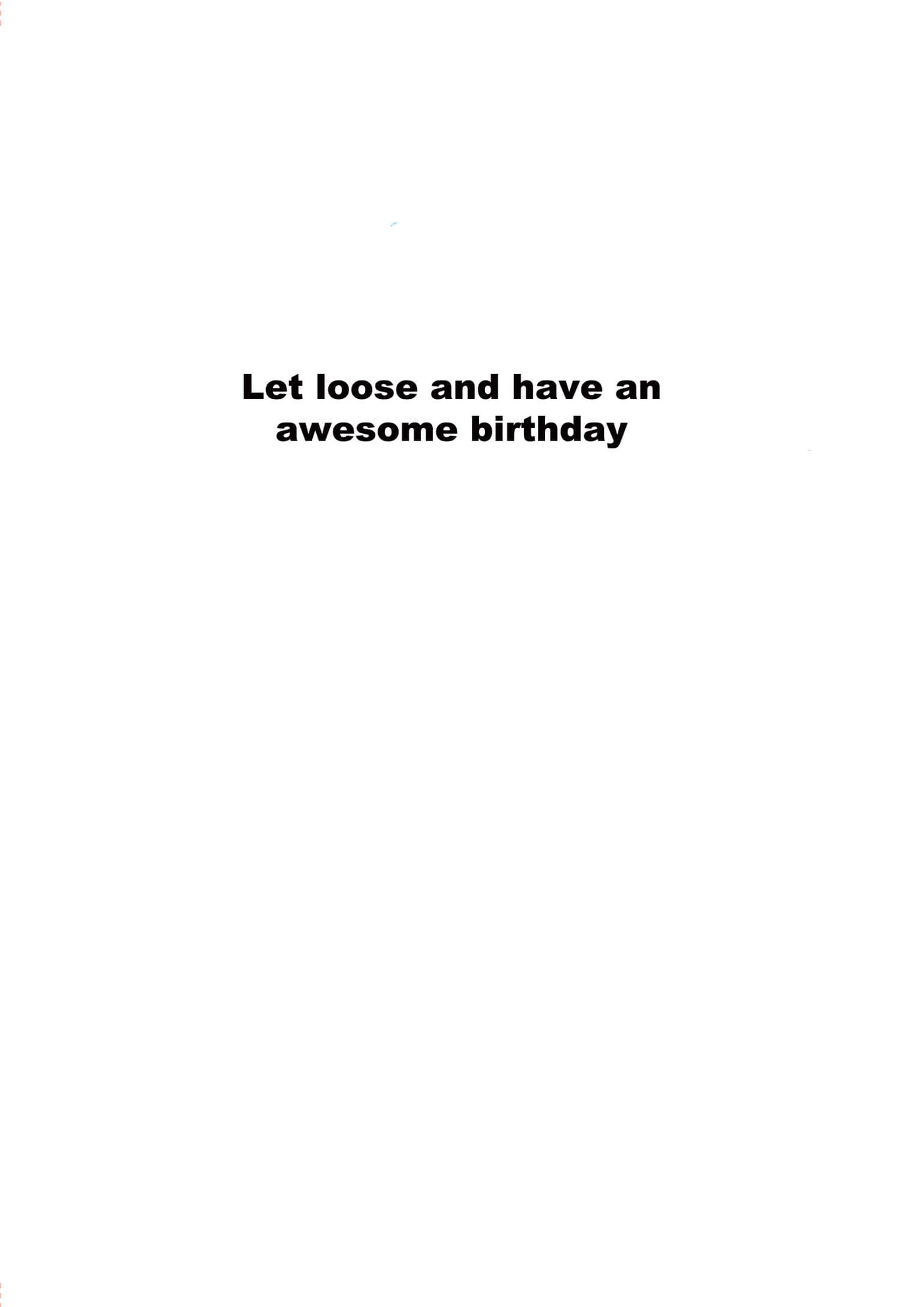 Dont Like To Keep Things Bottled Up Funny Birthday Greeting Card