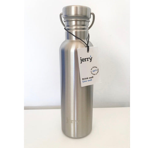 Save the Green Stainless Steel 750ml Jerry Bottle