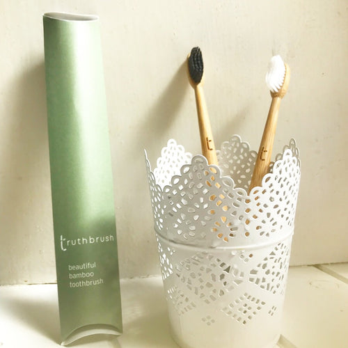 Save the Green Bamboo Toothbrush Truthbrush