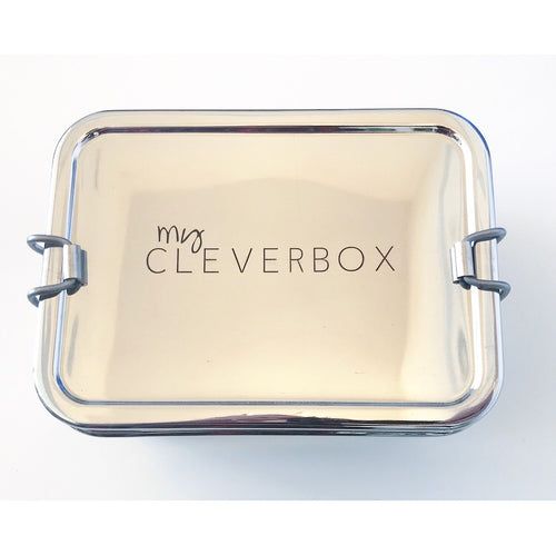 Save the Green Giant Two Tier Stainless Steel Lunch Box My Cleverbox