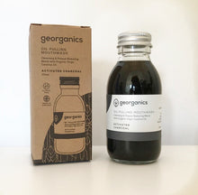 Save the Green Oil Pulling Mouthwash Activated Charcoal Georganics