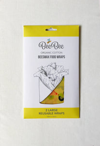 Beeswax Wrap - Large x 2