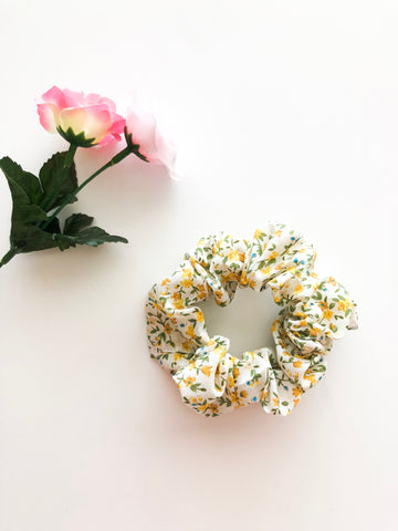 Yellow Flower Classic Scrunchie