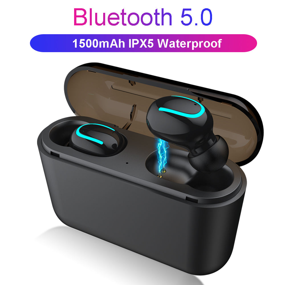 Bluetooth 5.0 Earphones TWS Wireless Headphones