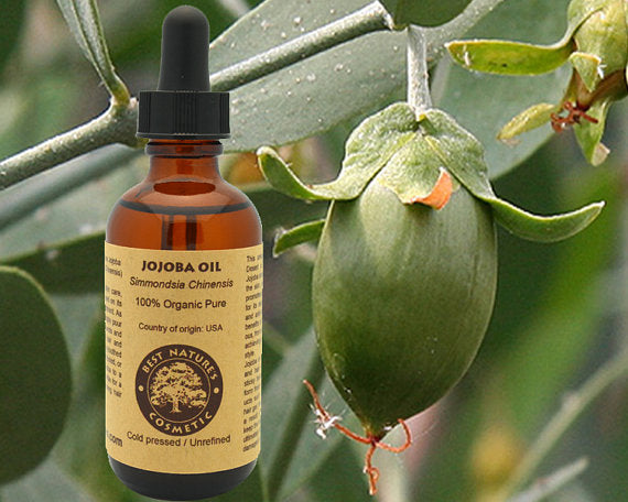 100% Pure Organic Virgin Jojoba Oil. Natural