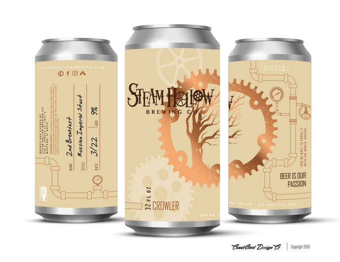 New Cans at Steam Hollow Brewing Co.