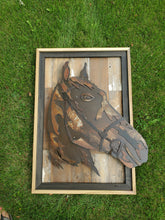 Load image into Gallery viewer, Rustic Metal Art Horse