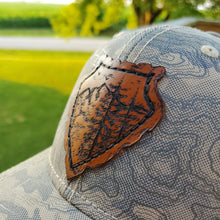 "Load image into Gallery viewer, ""Arrowhead"" Artist Series Trucker Snapback Hat"