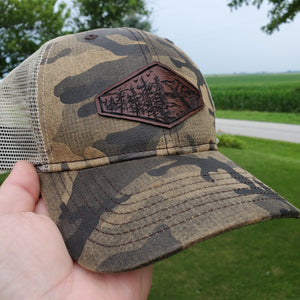 """The View"" Artist Series Camo Trucker Snapback Hat"